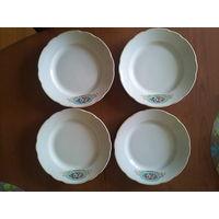 Тарелки Коростень. 4 единицы. 20 см.
