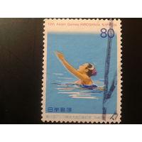 Япония 1994 синхронное плавание