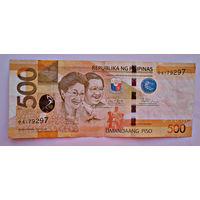 Филиппины, 500 песо, 2014 г., VF