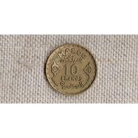 Марокко  10 франков 1952 //(GB)/