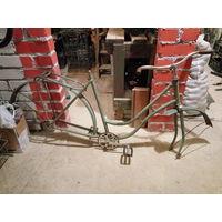 Ретро велосипед дамский ЛВЗ В-25,старый велосипед 50-70х