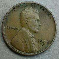 США 1 цент 1935S