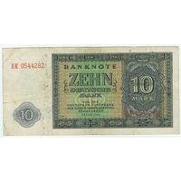 Германия, 10 марок 1948 год.