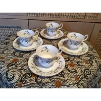 """Сервиз чайный """"Чертополох"""" Royal Albert Англия на 4 персоны"""