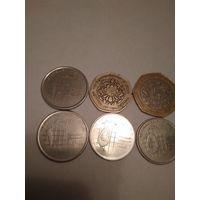 Монеты Иордании.