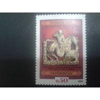 Таджикистан 1992 археология, золото 1-2 век