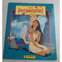 Наклейки для альбома Покахонтас