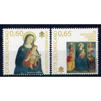 Ватикан 2009 Искусство, Религия, Рождество ** Живопись