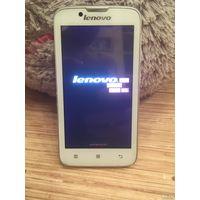 Lenovo A328 Android, экран 4.5 Mediatek MT6582M, ОЗУ 1 ГБ,, карты памяти, 2 SIM, цвет белый/ комплект, коробка, буклеты,без проблемы