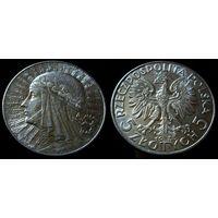 5 злотых 1933 (2) штемпельный блеск, люстр, превосходное коллекционное состояние!!