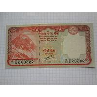 Непал 20 рупий  UNC