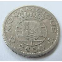 Мозамбик 2.5 эскудо 1953 г
