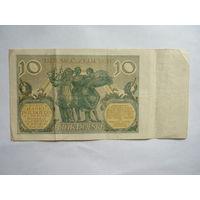 Польша. 10 злотых 1929г.