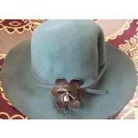 Шляпа женская пух кролика