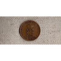 Индия Португальская 1/8 танга 1903(En)