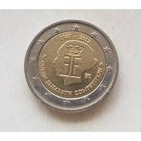 2 евро 2012 Бельгия 75-летие музыкального конкурса имени королевы Елизаветы