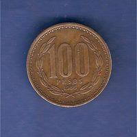 100 песо 1986 г.