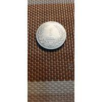 Турция 1 лира 1947