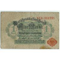 Германия, 1 марка 1914 год.