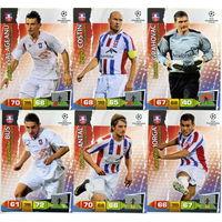 Коллекция PANINI Лига Чемпионов УЕФА 2011-2012. Adrenalyn XL // Otelul // Grahovac