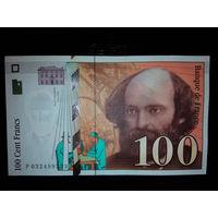 Франция. 100 франков 1997г. UNC