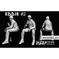 Фигура Eddie #2, сборная модель 1/35 KAV modelsF35 002