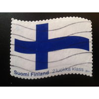 Финляндия 2011 нац. флаг