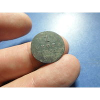 1 грош 1816 г. Российская Империя для Польши