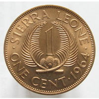 Сьерра-Леоне 1 цент 1964 (3)