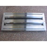 Фильтры жироулавливающие лабиринтного типа из нержавеющей стали.