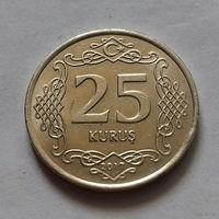 25 куруш, Турция 2017 г., AU