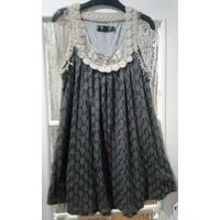 Симпатичное платье, на р-р 44-46