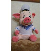 """Свинка-моряк  С Новым Годом (кто мешает это читать как """"С новым годом жизни!""""?)"""