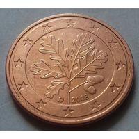 5 евроцентов, Германия 2008 D, AU