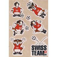 Наклейки Футбольные Swiss Team 94