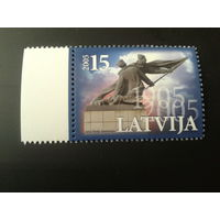Латвия. 2005г. Революция 1905 года.