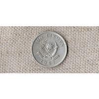 Конго 1 ликута 1967 /фауна/(JL)