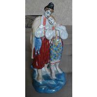 Фарфоровая статуэтка Влюблённая пара (майская ночь) СССР Отличная