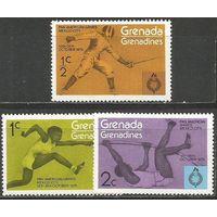 Гренада Гренадины. Пан-Американские игры. Мехико. 1975г. Mi#105-07.