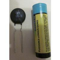 Термистор (терморезистор) NTC 10D-15 (10 Om 5A)