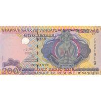 Вануату 200 вату образца 1995 года uNC p8c