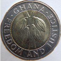 Гана, 100 седи, Плоды какао 1991 год