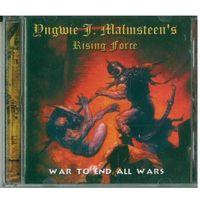 CD Yngwie J. Malmsteen's Rising Force - War To End All Wars (Jan 2001) Hard Rock, Heavy Metal