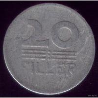 20 филлер 1953 год Венгрия