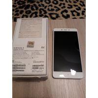 "Xiaomi Redmi Note 4 Android 6.0, экран 5.5"" IPS (1080x1920), хороший процессор Mediatek MT6797M Helio X20, ОЗУ 2 ГБ, флэш-память 16 ГБ, карты памяти, камера 13 Мп, хороший аккумулятор 4100 мАч, 2 SIM,"