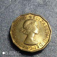 G Великобритания 3 пенса 1967 г.