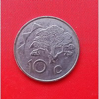 05-37 Намибия, 10 центов 1998 г.