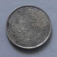25 центов, Суринам 1979 г.