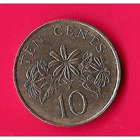 28-35 Сингапур, 10 центов 1986 г