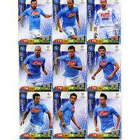 Коллекция PANINI Лига Чемпионов УЕФА 2011-2012. Adrenalyn XL // Napoli // Dossena